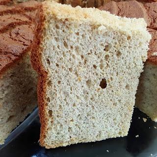 Orange Buckwheat chiffon cake