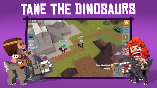 Dinos Royale - Multiplayer Battle Royale Legends Screenshot