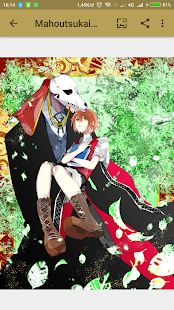 Mahoutsukai Yome Wallpaper HD - náhled