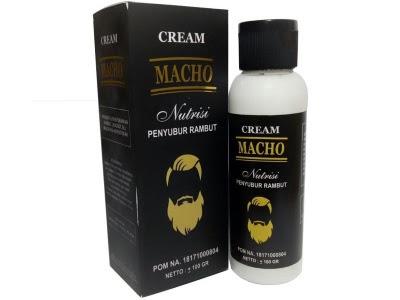Cream Macho Penumbuh Rambut Minyak MACHO Penumbuh Rambut Jenggot Jambang herbal obat Botak mengatasi rambut rontok