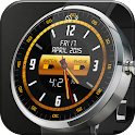 Gold Alloy Analog Watch Face icon
