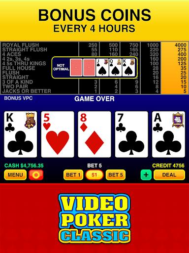 Video Poker Classic Free apktram screenshots 9