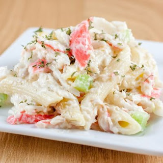 By-The-Bay Cold And Creamy Crab Salad.