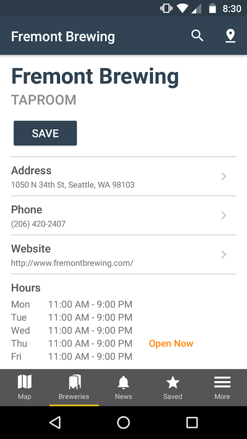 HopPlotter - Brewery Finder- screenshot