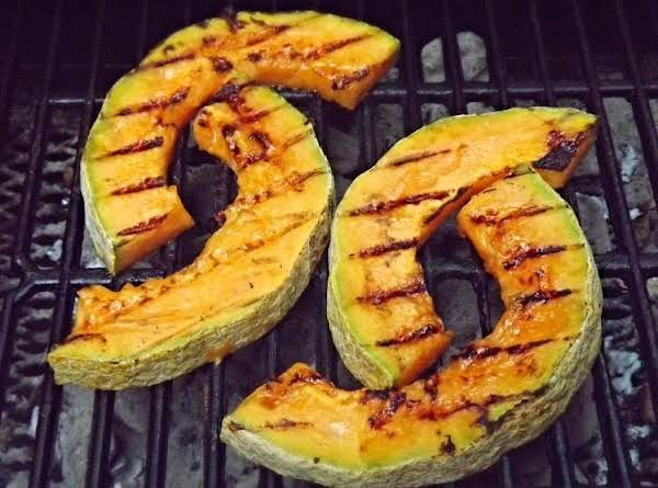 Grilled Cantalope