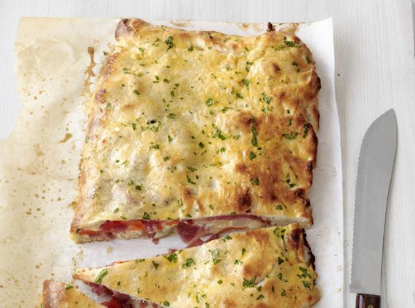 Mozzarella-salami Or Pastrami Calzone Recipe