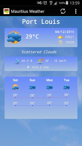 Mauritius Weather