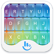 TouchPal Rainbow keyboard