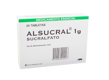 Alsucral 1G Tabletas Caja