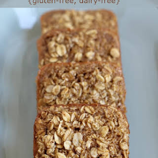 Maple Brown Sugar Baked Oatmeal Squares {Gluten-free, dairy-free}.