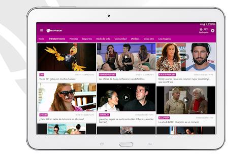 Univision- screenshot thumbnail