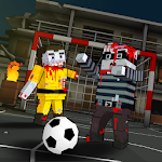 Cubic Zombie Soccer 3D Icon