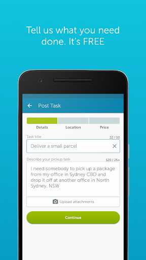 Airtasker app (apk) free download for Android/PC/Windows