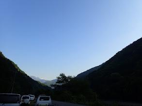 羽衣駐車場から南アルプス(北岳・間ノ岳など)