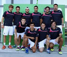 Photo: Selección de #pádel de Cantabria