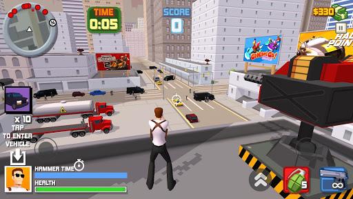 Télécharger Gangster crime | Vigilante mafia action game APK MOD 2