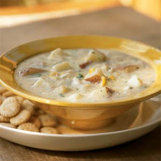 Chunky Potato-Crab Chowder