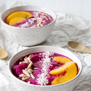 Dragon Fruit Smoothie Bowls.