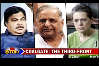 Photo: Coalgate: Mulayam tries to rally a Third Front as Cong, BJP continue their war http://t.in.com/5rGU