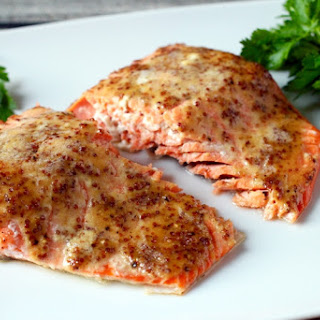 Honey-Dijon salmon