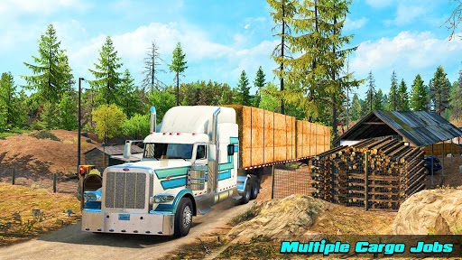 Speedy Truck Driver Simulator: Offroad Transport  screenshots 9