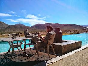 Photo: Relaxing on Safari