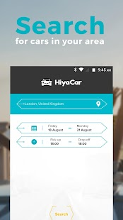HiyaCar- screenshot thumbnail