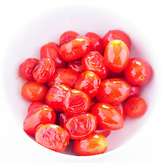 Pan Roasted Cherry Tomatoes.