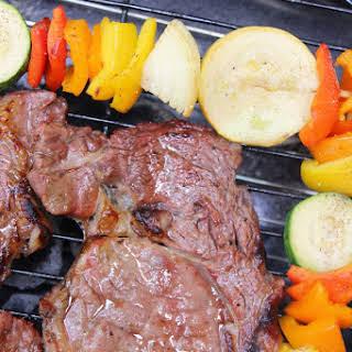 Super Easy Steak Marinade.