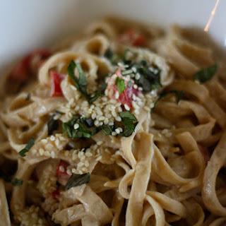 Coconut-Sesame Noodles