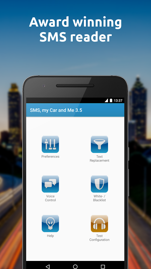 SMS, my Car and Me- screenshot