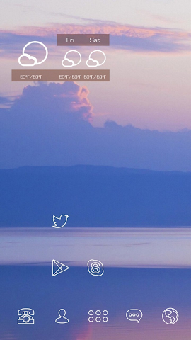 android Fancy Clouds and Remote Mount Screenshot 1