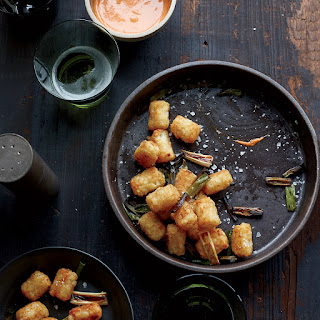 Tater Tots with Spicy Aioli