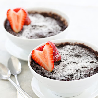 5 Minute Miracle Self-Sauced Chocolate Pudding.