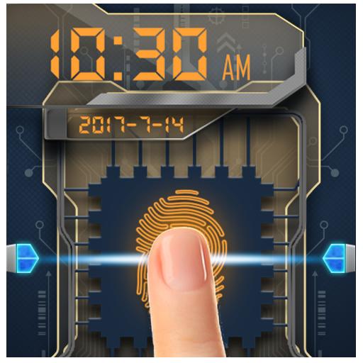 Fingerprint Lock with Music Shortcut Prank