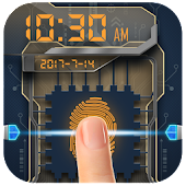 Fingerprint Lock with Music Shortcut Prank