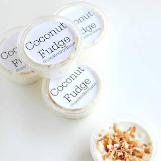 Coconut Fudge.