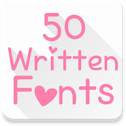 Fonts for FlipFont 50 Written‏