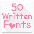 Fonts for FlipFont 50 Written apk