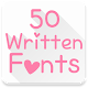 Download Fonts for FlipFont 50 Written for PC - Free Personalization App for PC