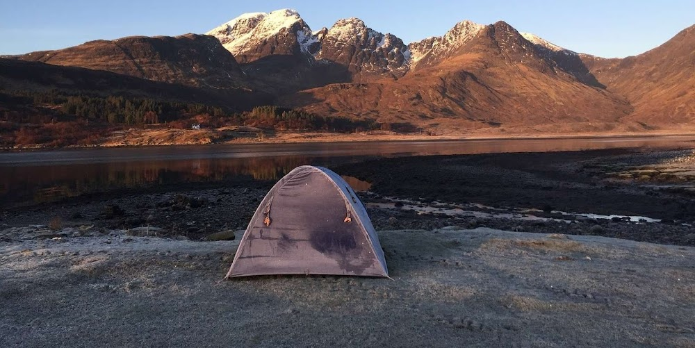 Camping in Scotland Isle of Skye in Winter | Krys Kolumbus Travel