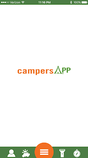 campersAPP- screenshot thumbnail