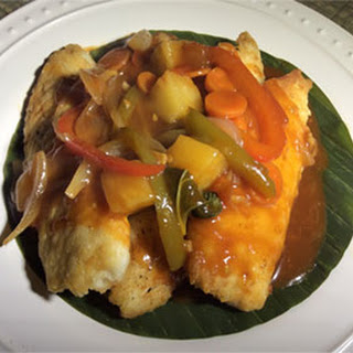 Hawaiian Style Fried Tilapia Fillets