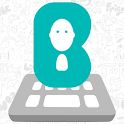 Bobble Keyboard with Stickers icon