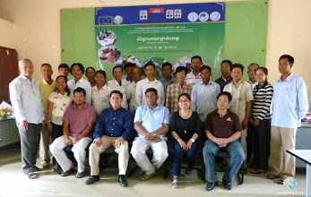 Photo: Group photo - Participants from Takeo province