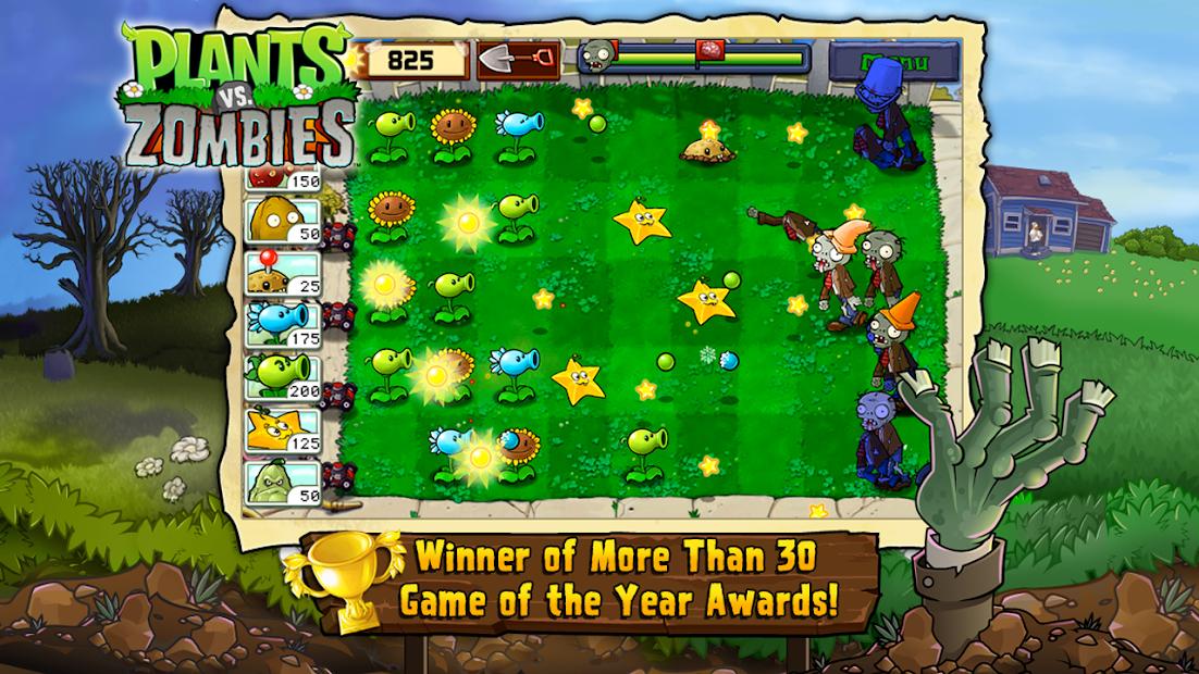 Plants vs. Zombies FREE Android App Screenshot