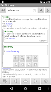 Fora Dictionary- screenshot thumbnail