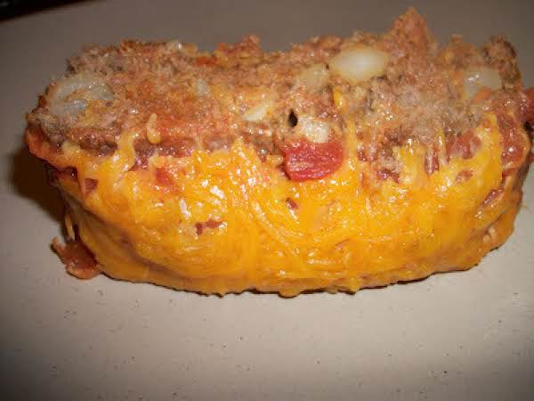 Mexican Taco Meatloaf Recipe