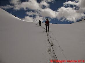Photo: IMG_8887 mettiamo piede sulla Vedretta dello Zebru