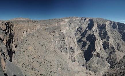 Blick ins Wadi Nakhar